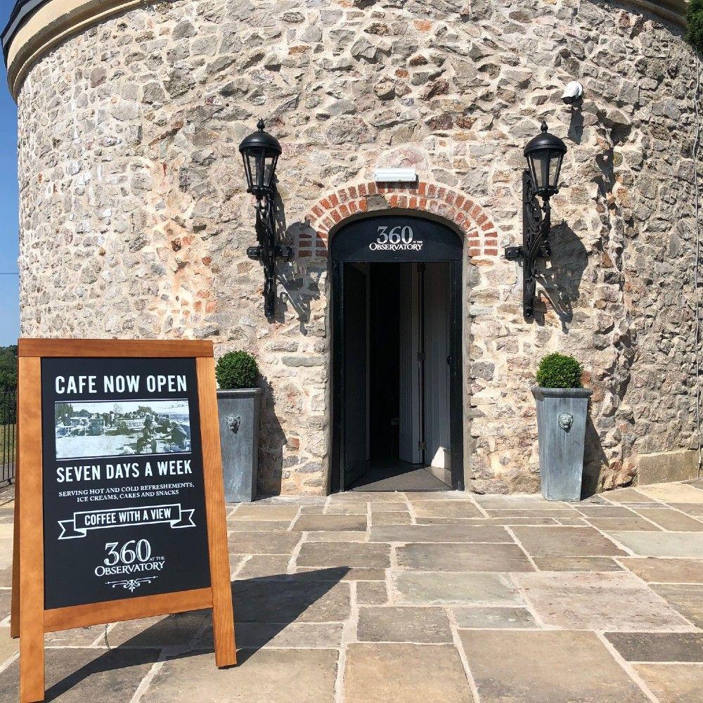 360 Cafe Entrance